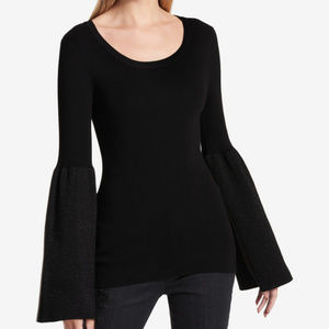 DKNY bell sleeve sweater